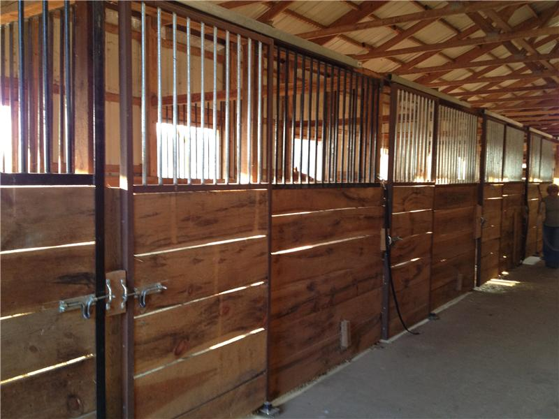Inside Stable