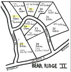 17, 19, 26, 25 Bear Ridge II, Greeley, PA