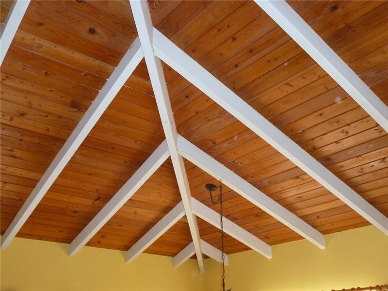 Sky-high Cypress Wood Ceilings