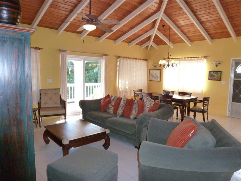 Caribbean style Great Room with wonderful breezes