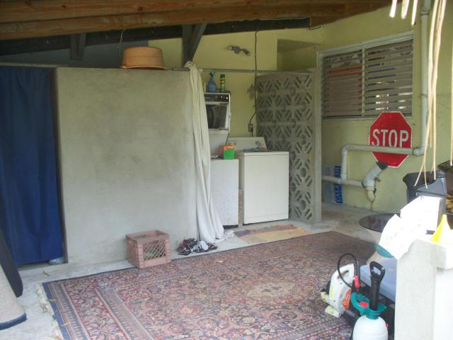Workshop / Laundry Area