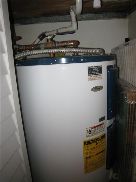 Water Heater 3 yrs old