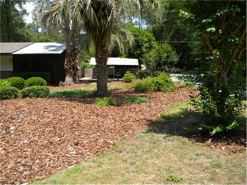 Large Corner Landscaped Lot