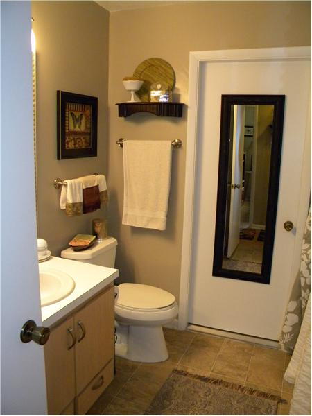 Guest Bath & Door to Laundry Room