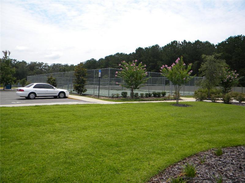 Tennis Court & Parking