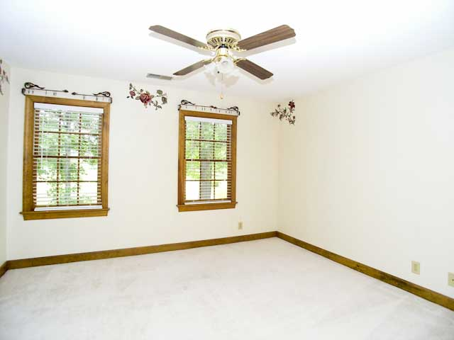 Three secondary bedrooms plus bonus room