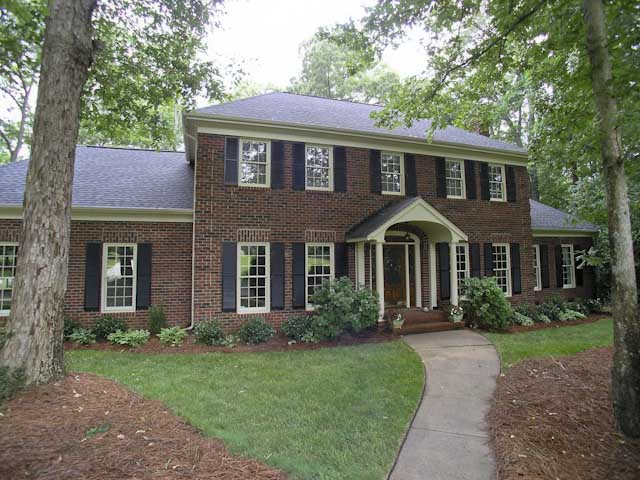 Classic brick home on over two acres