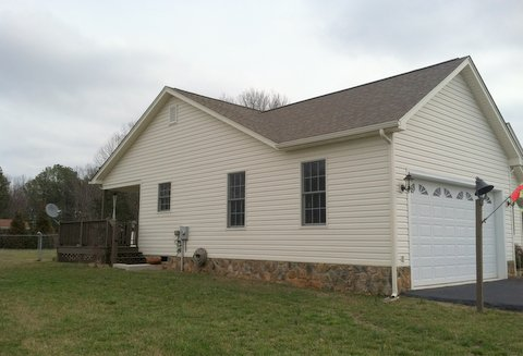 Maintenance Free Siding, Rock Veneer