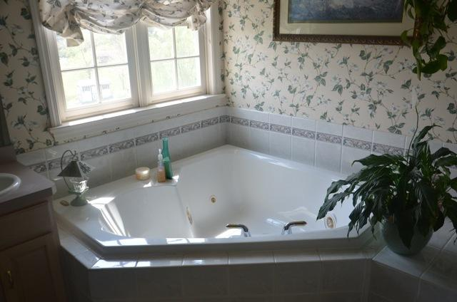 Jetted bathtub