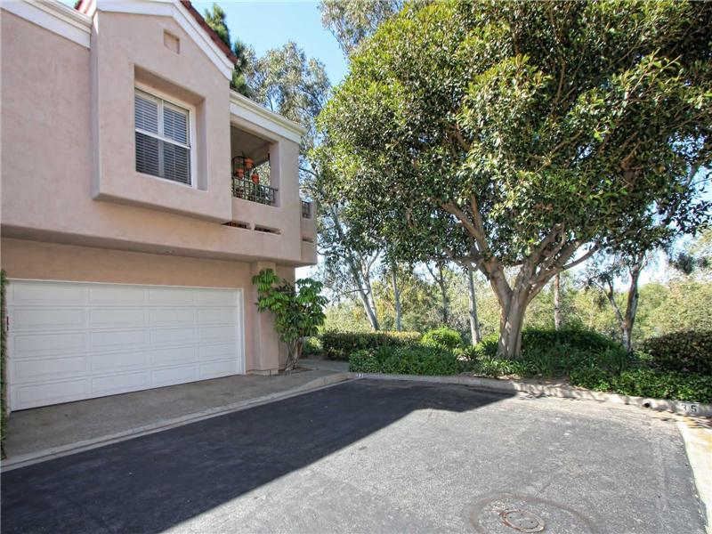 Rare 2-Car Attached Garage directly underneath 33 Auburn Aisle, Irvine