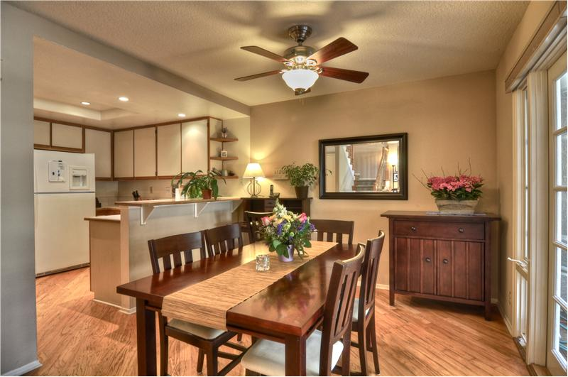 Spacious Dining for Intimate or Large Gathering of Family & Friends