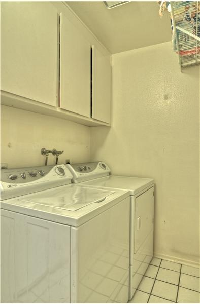 Separate Laundry Room With Washer/Dryer Hookups