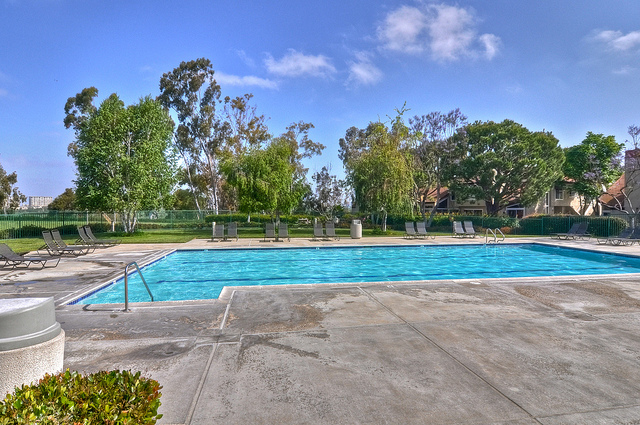 One of Four Community Pools & Spas to Which Residents Have Access: Two are Junior Olympic Size