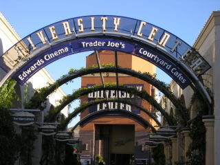 Walk to the University Center & Enjoy Restaurants, Cafes, Movie Theatres, Shops, Trader Joe