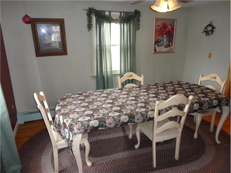 Dining Room -  Original hardwood floors!