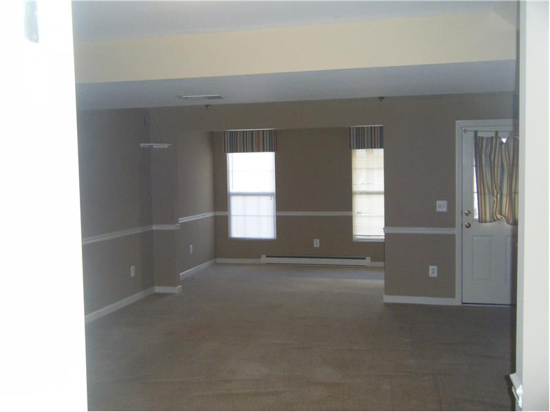 A walkout basement with lots of light.