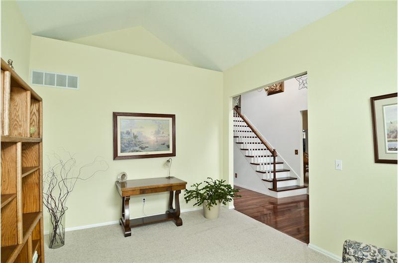 Living room looking to Foyer