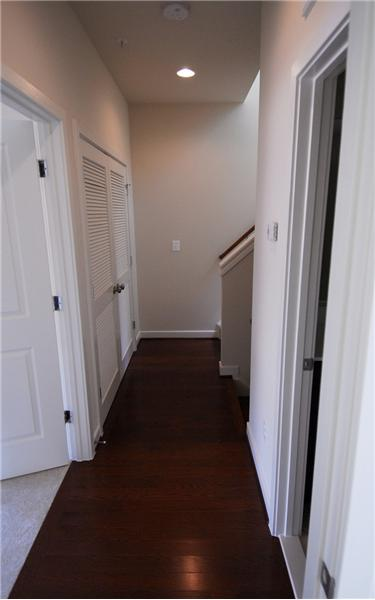2nd Level Hallway with Laundry