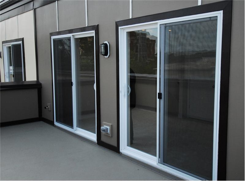 Sliding Doors to Private Roof Terrace