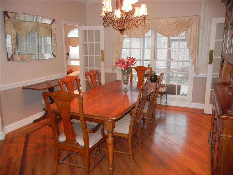 Hardwoods in the Dining Room