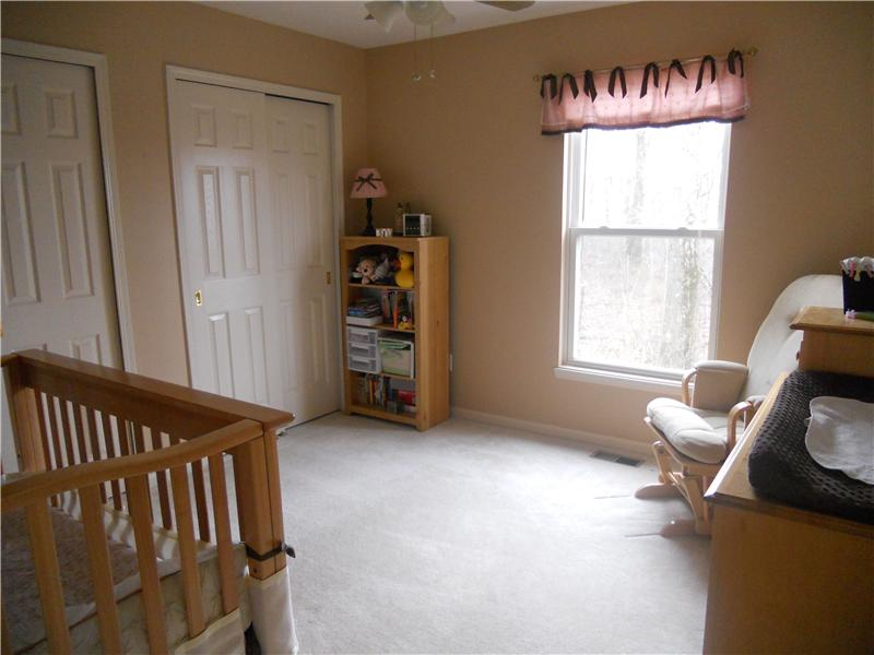 Bedroom on second floor