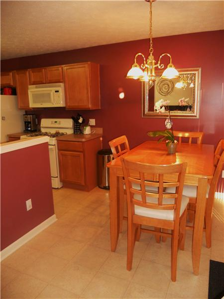 Fabulous kitchen includes refrigerator, range, dishwasher, disposal, and microwave