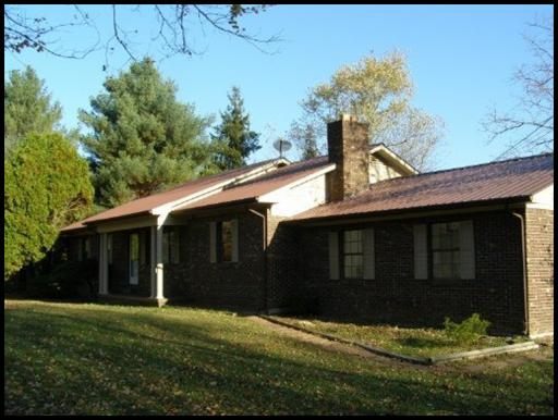 Brick home near Crossville