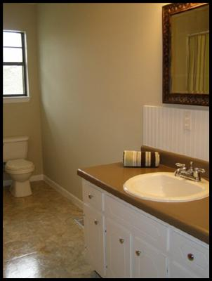 Renewed bathroom