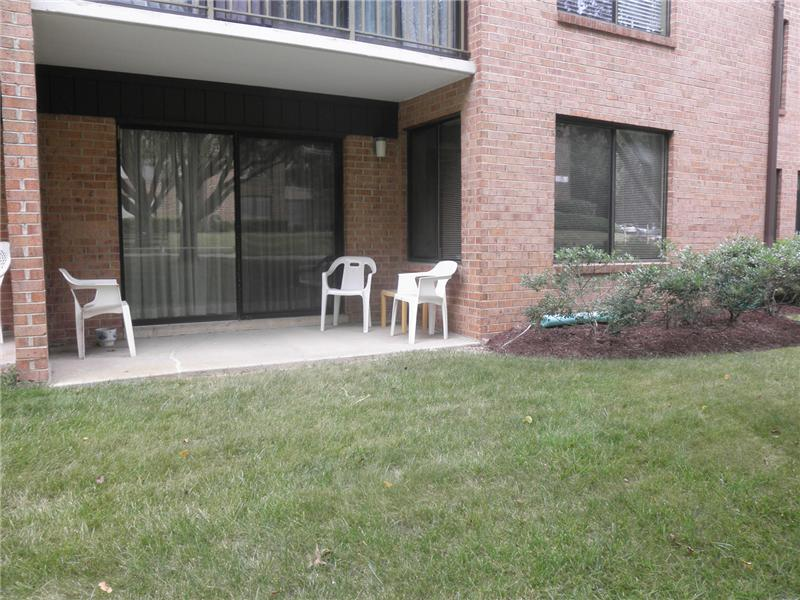 Outdoor Patio with Grassy Area
