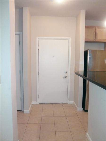 Condo Entry with Ceramic Flooring