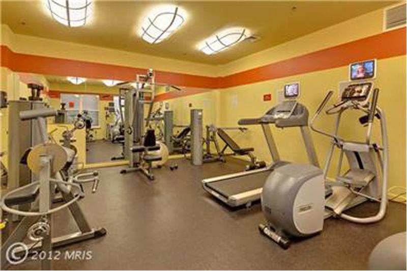 Fitness Center in Building