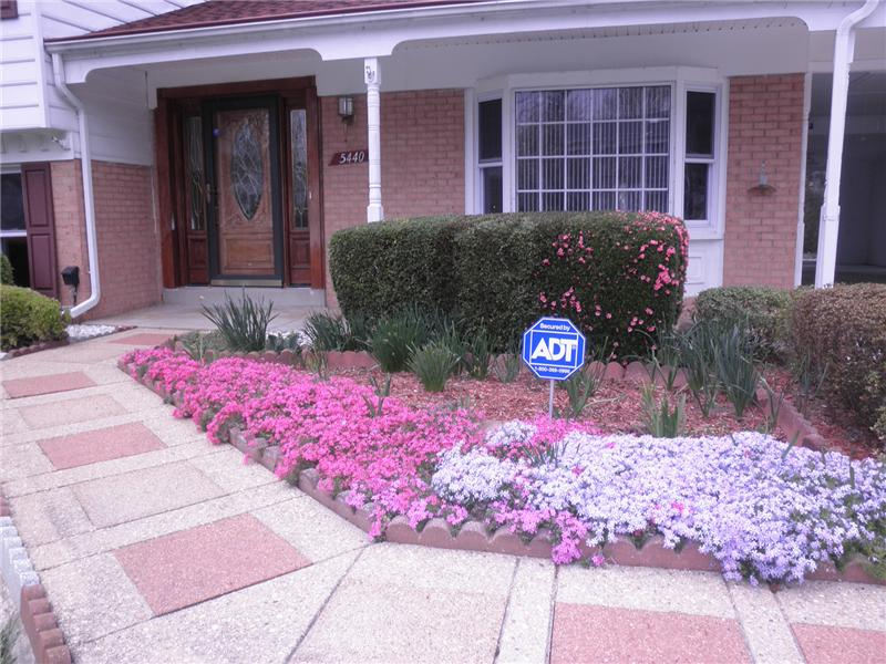 Front walkway entrance
