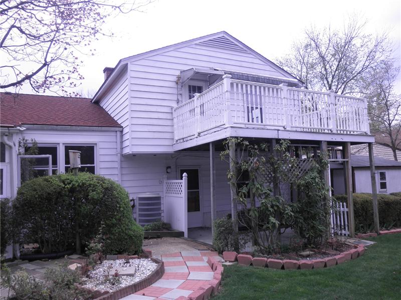Rear Exterior with deck