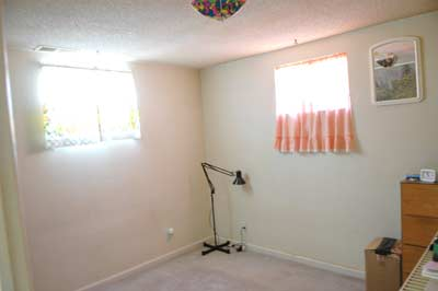 4th Bedroom in Basement