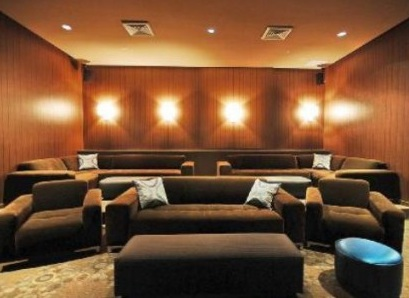 Movie Theater with Huge Screen, Just like the Movies
