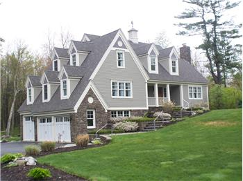 Architectural craftsman style cape