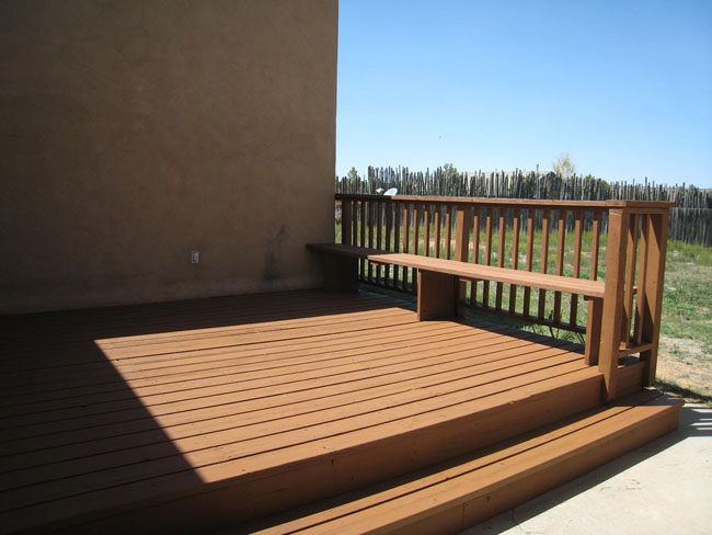 Deck off Living/Dining Area