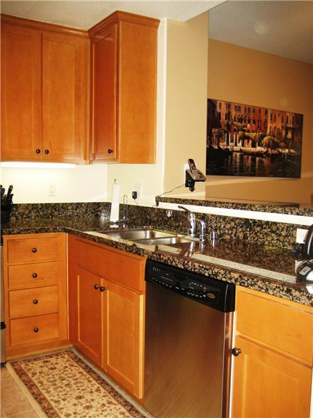Kitchen - Stainless Steel Sink & Dishwasher