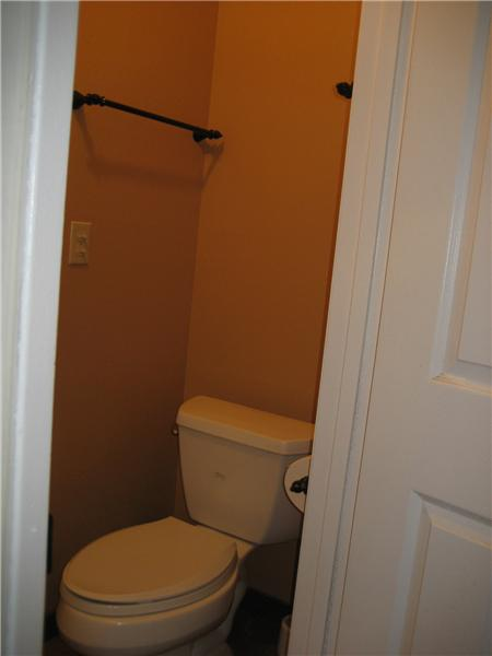 Separate Commode Closet
