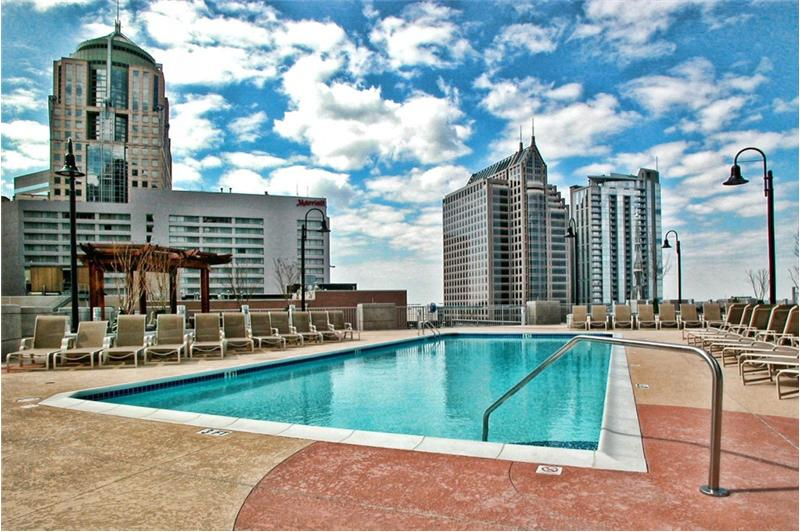 Condos with Pool in Uptown Charlotte NC