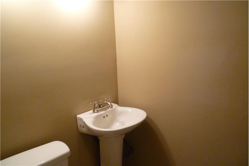 Half Bathroom in Basement