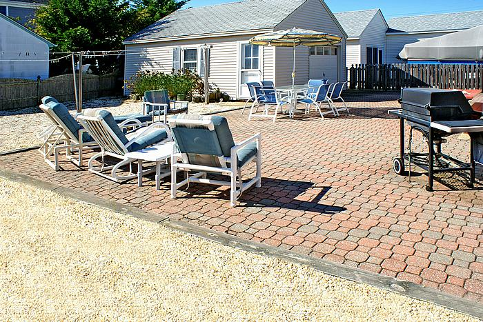 Fenced Backyard & Paver Patio - Big enough for a pool, boccie or volleyball!