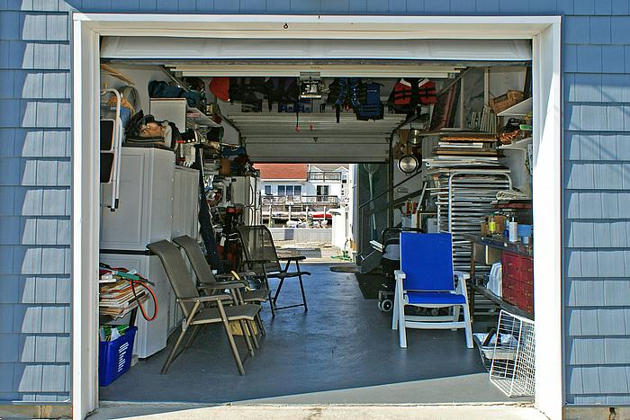 Double Door Garage