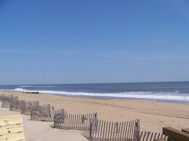 One of The Beautiful Beaches on The Outer Banks