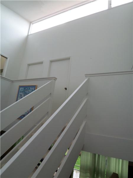 Stairway to second floor