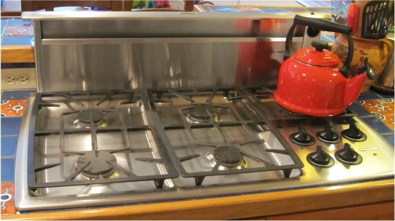 5-burner gas cook top