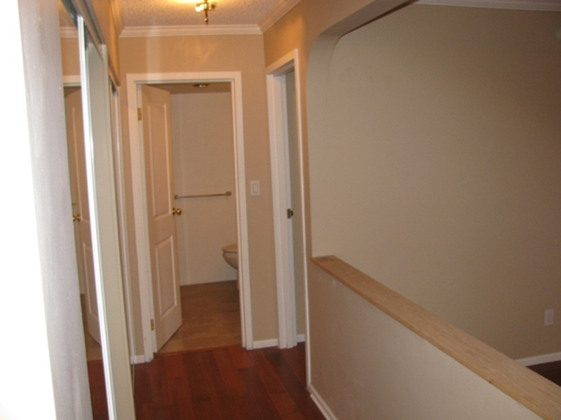 Hallway to bedroom and bathroom continued