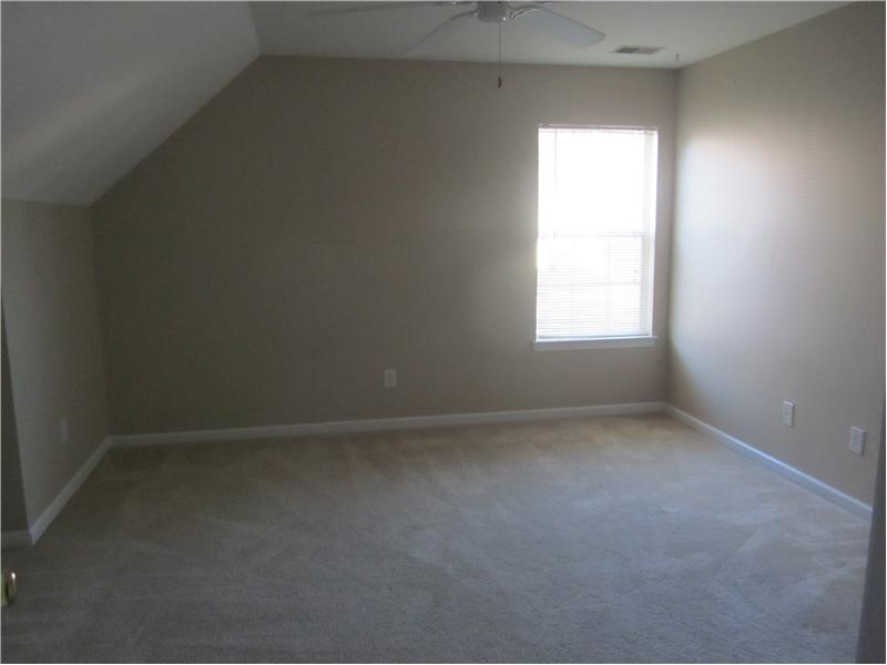 large bedrooms upstairs
